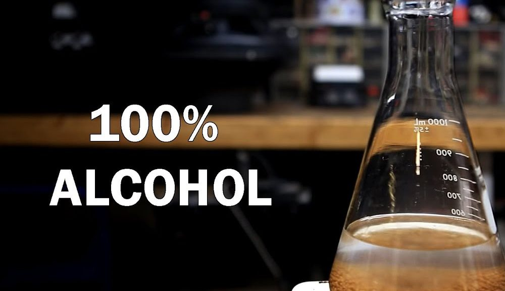 100 Percent Alcohol